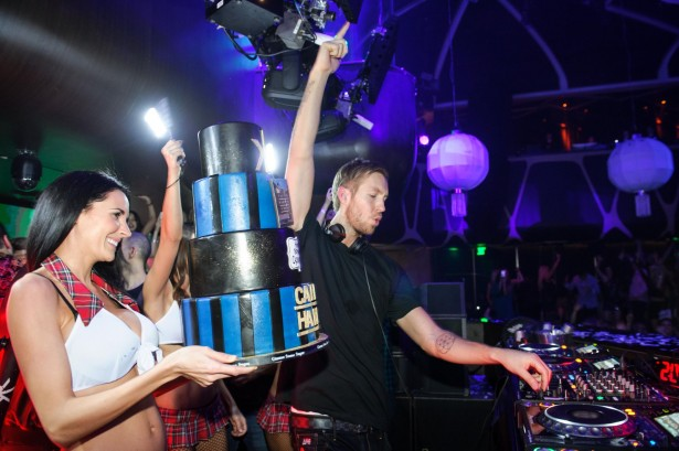 Calvin Harris_Birthday Cake 3_Hakkasan Nightclub