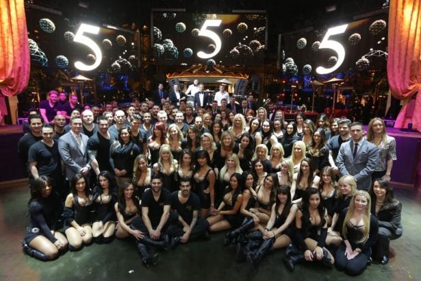 XS 5 year - staff