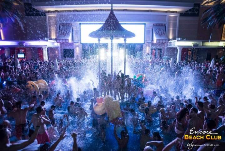 Skrillex At Encore Beach Club
