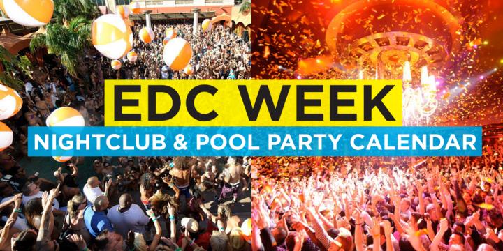Las Vegas July 2020 Events.Edc Week 2020 Las Vegas Event Calendar Electronic Vegas