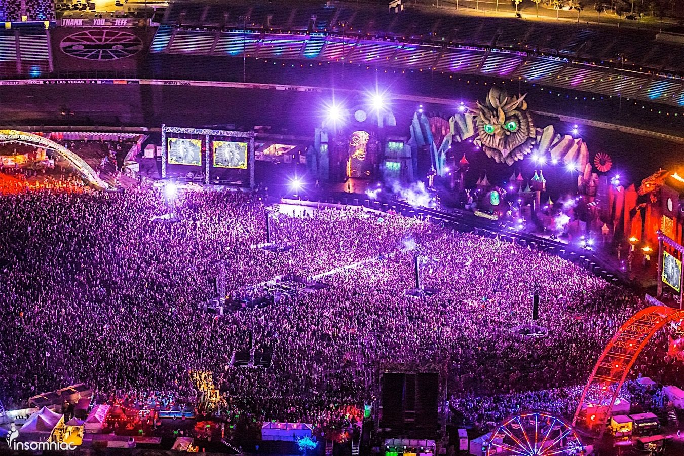 Insomniac releases full edc 2016 lineup electronic vegas for Pool show las vegas 2016